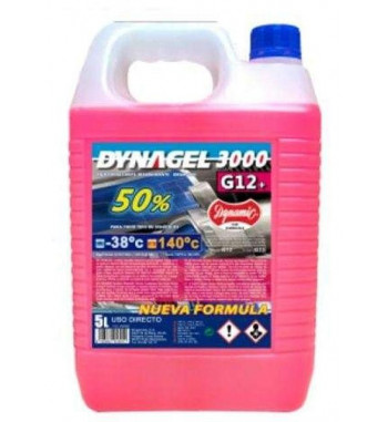 DYNAGEL 3000 50% ROJO G12+ 5L