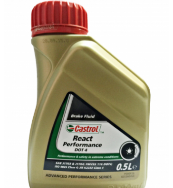 CASTROL REACT PERFORMANCE DOT-4 0,5L