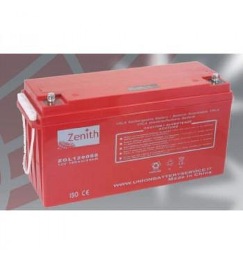 BATERIA ZENITH AGM DEEP CYCLE 12V 160AH