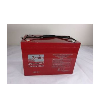 BATERIA ZENITH AGM DEEP CYCLE 12V 100AH